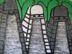 Mural tikal